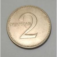 Ангола 2 кванзы 1975_не частая_самая дешёвая на АУ