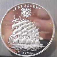 Того. 1000 франков 2001. Серебро (392)