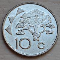 Намибия, 10 центов 2009 г