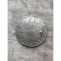 Мексика 8 реалов 1846 г.