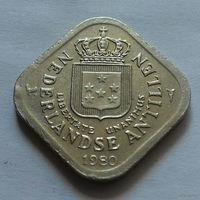 5 центов, Нидерландские Антильские острова, (Антиллы) 1980 г.