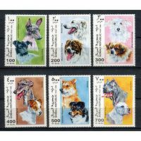 Сомали - 1999 - Собаки - полная серия - 6 марок. MNH.