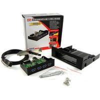Концентратор USB 3.0 на переднюю панель AgeStar 3UHC Black