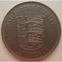 Джерси 10 пенсов 1975 г. (gl)