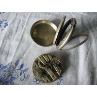 Часы карманные корпус Швейцария серебро