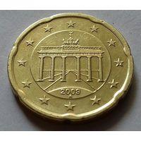 20 евроцентов, Германия 2009 A