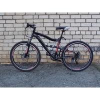 Велосипед горный , диаметр колёс 26 дюймов