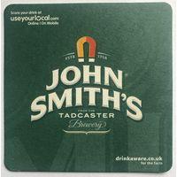 Подставка под пиво John Smith's /Англия/