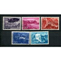 Лихтенштейн - 1959 - Природа и архитектура - [Mi. 381-385] - полная серия - 5 марок. Гашеные и MNH.  (Лот 56N)