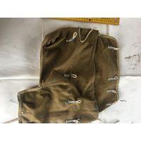Из прочного  брезента  армейская сумка  от прибора