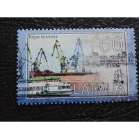 Латвия 2011г. Рижский порт.