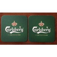 Подставка под пиво Carlsberg No 29