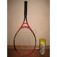 Ракетка для большого тенниса WISH Composite 500 Over Size
