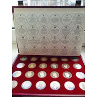 Набор монет Талеры 24 шт серебро. обмен возможен
