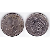 ФРГ 2 марки 1985 D