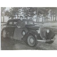 Автомобиль мерседес Минск Масюковщина 1950 г