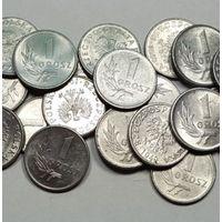 Польша, 1 грош 1949 год.