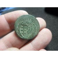 3 гроша. 1811 г. I.S. Княжество (Герцогство) Варшавское