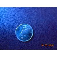 Канада 10 центов 2008