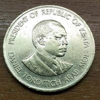 Кения 10 центов 1987
