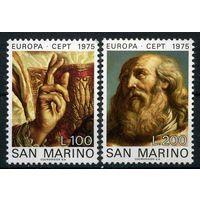 Сан Марино 1975 г. Европа СЕПТ - ИСКУССТВО - ЖИВОПИСЬ ** MNH