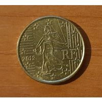 10 евроцентов 2012 Франция