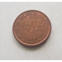 5 евроцентов 2004 Испания