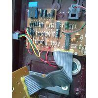 Сломанный стационарный телефон (для радиолюбителя) с платой