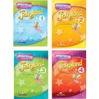 Fairyland 1 - 5. Интерактивный многоуровневый курс английского языка для детей (набор различных пособий) + Детские любимые песни и рассказы: Children's favorites