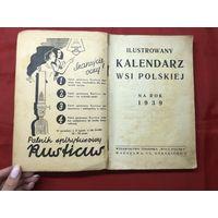 Ilustrowany kalendarz wsi Polskiej 1939 rok