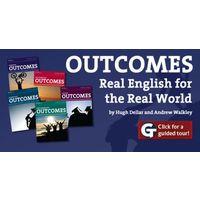 Outcomes Elementary - Advanced. Отдача: от уровня Elementary до Advanced (многоуровневый курс)