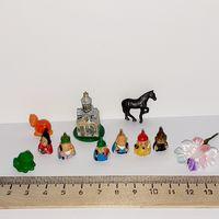 Игрушки для кукол (кукольный дом в викторианском стиле, Дом мечты ДеАгостини DeAgostini, миниатюра 1:12) (за всё)