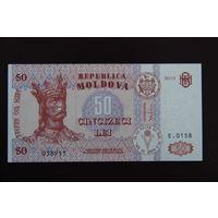 Молдова 50 лей 2013 UNC