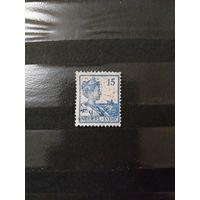 1929 Голландская колония Ост-Индия королева (4-8)