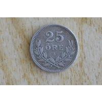 Швеция 25 эре 1910