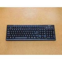 Мультимедийная клавиатура Gembird KB-8300M-BL-R PS/2 Black. Не работают клавиши Shift. Характеристики: полноразмерная, 15 мультимедийных клавиш. Длина кабеля: 1.50м. Размеры: 443x149x19мм.