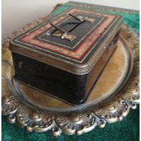 Копилка скарбонка шкатулка DIBRO LIMITED коробка металл старая Англия