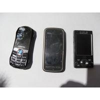 Лот полурабочих телефонов