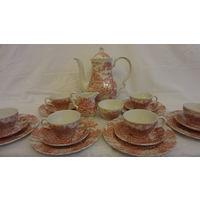 Чайный сервиз на 6 персон Англия