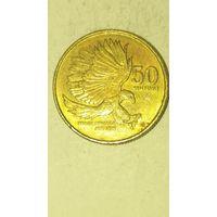 Филипины 50 сентимов 1993