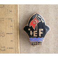 Значок Турция флот IEF 1956 год
