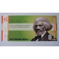 Один доллар  Балтимор 2011г. США