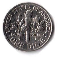 США. 1 дайм (10 центов). 1995 P