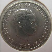 Руанда 1 франк 1969 г. В холдере (gk)