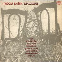 LP Rudolf Dasek - Dialogy (1979) Free Jazz, Contemporary Jazz