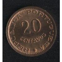 Мозамбик 20 сентаво 1973 г. Колония Португали. Сохран!!!