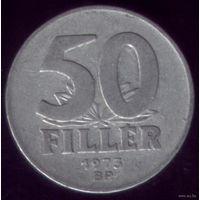 50 филлер 1973 год Венгрия
