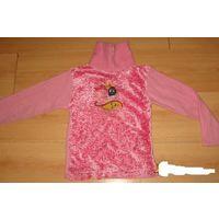 Нарядный свитерок 7-8 лет