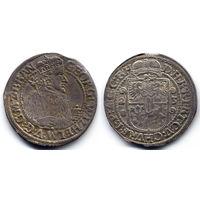 Орт 1623, Георг Вильгельм, Пруссия. Вариант портрета в меховой мантии, R