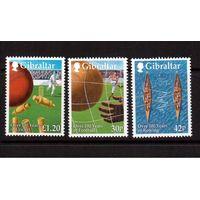 Гибралтар-1999,(Мих.890-892)  ** ,Спорт
